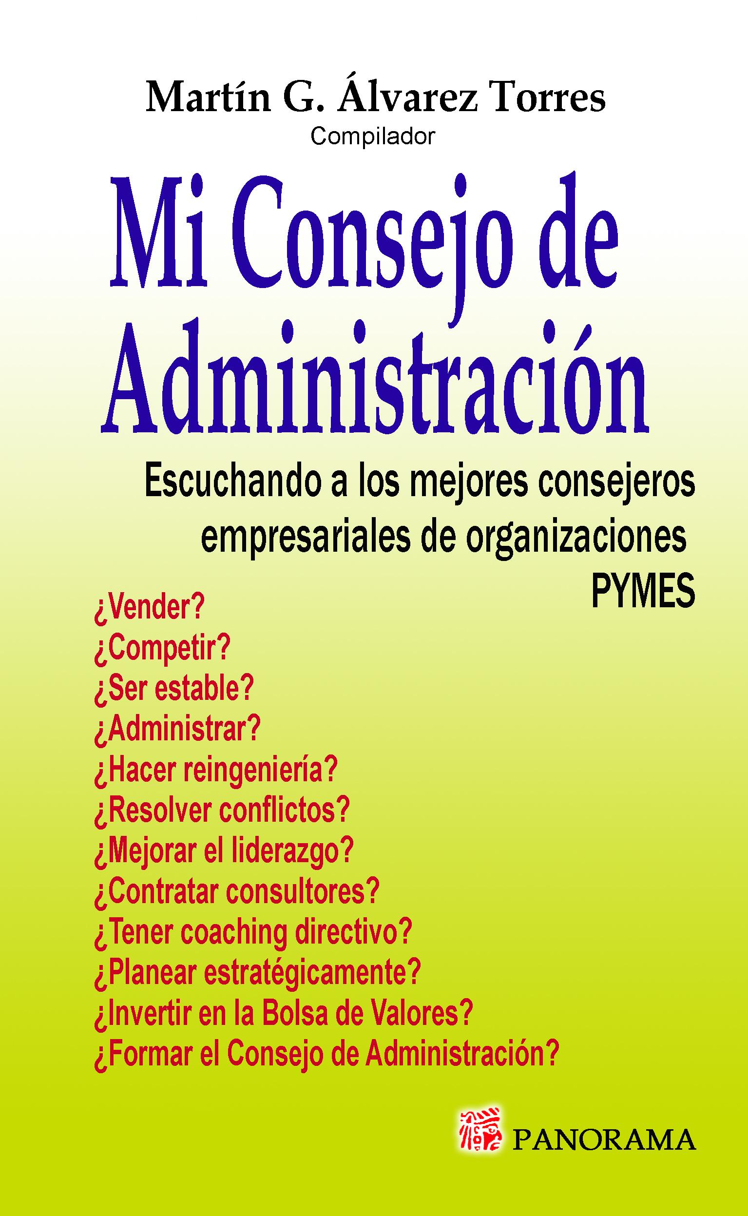 Mi Consejo de Administración Vol.1