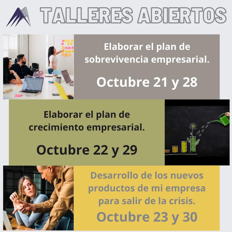 cursos abiertos octubre